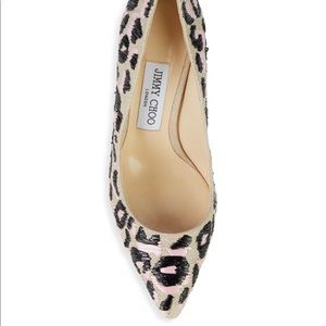 Jimmy Choo Romy Animal Print Stilettos